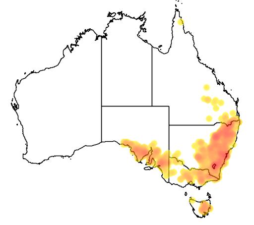 Cryptandra amara flora location map
