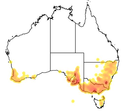 Geranium retrorsum flora location map