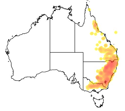 Melichrus urceolatus flora location map