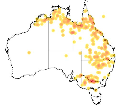 Nymphoides crenata flora location map